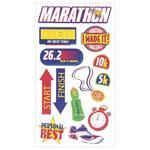 Marathon Sticko Stickers