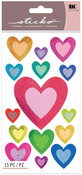 My Hearts Shimmer Stickers - Sticko