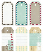 Timber Grove Large Decorative Tags - Fancy Pants