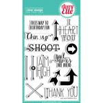 Aim High Clear Stamp Set - Avery Elle