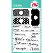 All Occasions Tag Clear Stamp Set - Avery Elle