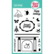 Warm Wishes Clear Stamp Set - Avery Elle