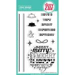 Merry And Bright Clear Stamp Set - Avery Elle