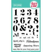Count On It Clear Stamp Set - Avery Elle