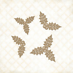 Holly Sprigs Chipboard Shapes - Blue Fern Studios