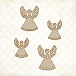 Little Angels Chipboard Shapes - Blue Fern Studios