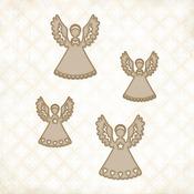 Little Angels Chipboard Shapes - Blue Fern Studios