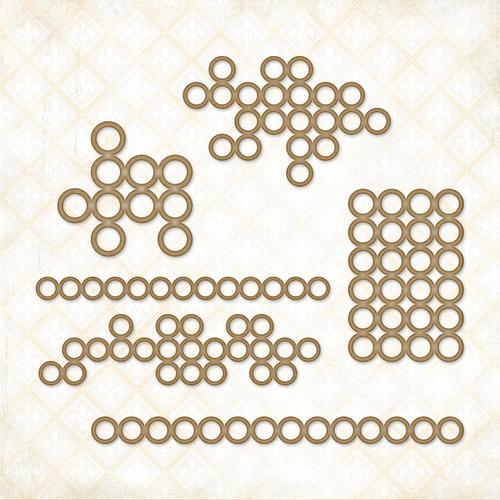 Mini Ring Chipboard Things - Blue Fern Studios