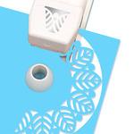 Round Leaf Circle Edge Punch Cartridge - Martha Stewart Crafts