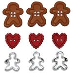 Gingerbread Cookies Buttons