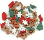 Christmas Miniatures Buttons