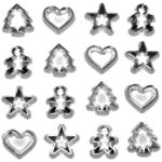 Mini Cookie Cutter Buttons