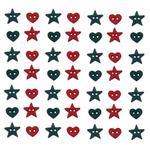 Christmas Garland Buttons