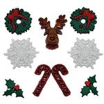 Deck The Halls Buttons