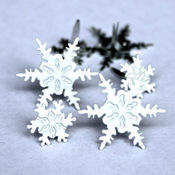 Snowflake Eyelet Outlet Brads