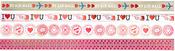 Love Notes Border Stickers - Martha Stewart Crafts