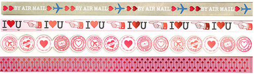 Love Notes Border Stickers - Martha Stewart Crafts