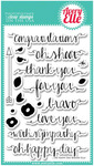 Oh Happy Day Clear Stamp - Avery Elle