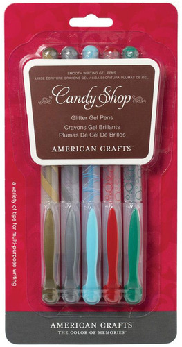 Basics Candy Shop Gel Pens - American Crafts
