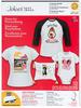 White Fabrics Easy Image Iron on Transfer Sheets - Jolees Boutique