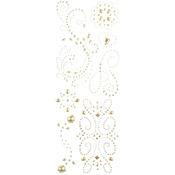 Pearl Swirl Adhesive Gems - K & Company