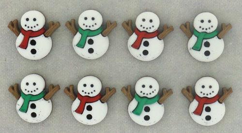 Sew Cute Snowmen Buttons