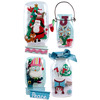Holiday Snow Globe Jar Stickers - Jolees