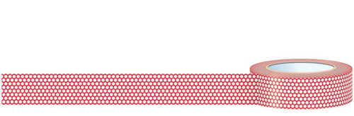 Red Mesh Washi Tape - Vol 2 - Daily Flash - October Afternoon