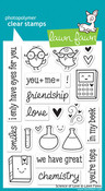 Science Of Love Clear Stamps - Lawn Fawn