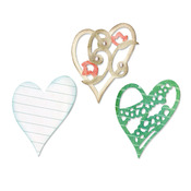 Layers Of Love Thinlits - Sizzix