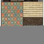 Good Ol' Sport 12 x 12 Alpha Sticker Sheet - Graphic 45