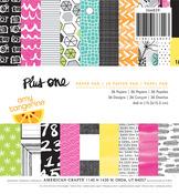 Plus One 6 x 6 Paper Pad - Amy Tangerine
