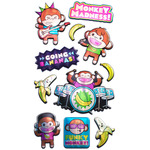 Monkey Musicians Stickers