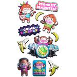 Monkey Musicians Stickers