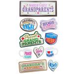 Proud Grandparents Stickers