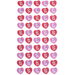 Love Gems Stickers