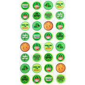 St Pats Kiss Seal Stickers