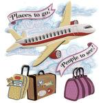 Airplane Stickers - Jolee's Boutique