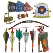 Archery Stickers - Jolee's Boutique
