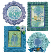 Baby Boy Mini Frame Stickers - Jolee's Boutique