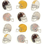 Football Helmet Repeat Stickers - Jolee's Boutique