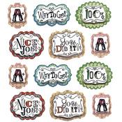 Teacher Word Repeat Stickers - Jolee's Boutique