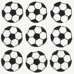 Soccer Repeat Stickers - Jolee's Boutique