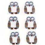 Owl Repeat Stickers - Jolee's Boutique