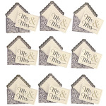 Mr & Mrs Envelope Repeat Stickers - Jolee's Boutique