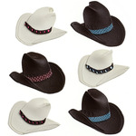 Cowboy Hat Repeat Stickers - Jolee's Boutique