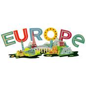 Europe Title Wave Sticker - Jolee's Boutique