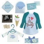 Baby Boy Pregnancy Dimensional Stickers - Jolee's Boutique