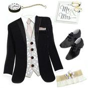 Tuxedo Dimensional Stickers - Jolee's Boutique