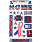 Welcome Home Dimensional Stickers - Sticko